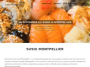 Un large choix de sushis à vous faire livrer à Montpellier