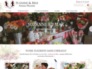 screenshot http://www.suzanneetmax-fleuriste.com/ Suzanne & Max