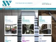 screenshot http://www.sv-miroiterie.fr Menuisiers expérimentés