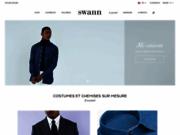 Swann et Oscar les chemises sur mesure