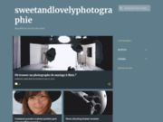 screenshot http://sweetandlovelyphotographie.fr Studio photo