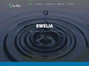 screenshot http://www.swelia.com swelia, réseau d'entreprises de la filière eau