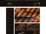 screenshot http://www.swisscubancigars.fr/ Cigares Cubains