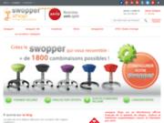 screenshot http://www.swoppershop.com Chaise de bureau ergonomique