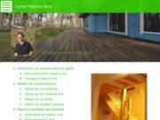 screenshot http://www.syma-maisonbois.com maisons en bois et chalets en kit