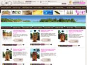 screenshot http://www.tahitimaeva.com tahiti maeva artisanat, pareo, monoi, produits bio, huiles, tamanu, noni