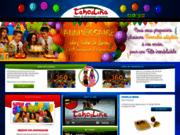 screenshot http://www.taho-lina.com parc d'attractions couvert pour les enfants