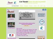 screenshot http://www.talentiel.fr talentiel, école primaire pour enfants précoces