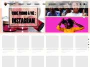 screenshot http://www.tameliabeautyshop.com/ produits pour peaux noires