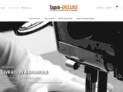 screenshot http://www.tapis-deluxe.com/ Vente de tapis automobile en ligne