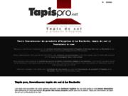 screenshot http://www.tapispro.net Tapis pro