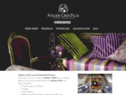 screenshot http://www.tapisserie-decoration.fr creaplus: tapisserie décoration paris
