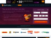 screenshot http://www.tarif-colis.com/ simulateur tarif  délai livraison pour envoi colis