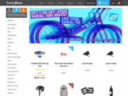 screenshot http://www.tartybikes.co.uk tarty bikes - vente en ligne - trial