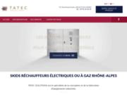 screenshot http://www.tatec-solutions.fr SOLUTIONS