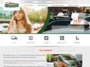 screenshot http://www.taxi-gendrier.com/ taxi gendrier