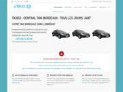 screenshot http://taxi33.fr taxi 33 - taxis bordeaux et environs