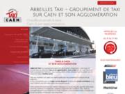 screenshot http://www.taxis-abbeilles-caen.com taxis abbeilles de caen