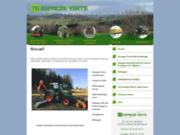 screenshot http://www.tb-espaces-verts.fr/ Entretien d'espaces verts dans l'Allier et la Loire