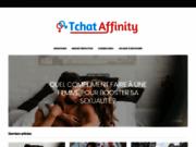 screenshot http://www.tchat-affinity.com Tchat gratuit