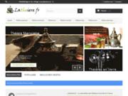 screenshot http://www.tea-for-two.be magasin et salon de thé bruxelles
