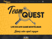 screenshot https://www.teamquest-escapegame.fr Escape Game à Montélimar en Drôme