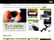 screenshot http://www.techdigitale.com solution de surveillance hitech