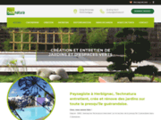 screenshot http://www.technatura.fr/ technatura - entreprise paysagiste
