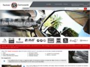 screenshot http://www.technic-carrosserie-37.com/ garage auto technic' carrosserie
