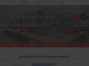 screenshot http://www.techninettoyage.fr/ société de nettoyage industriel, ile de france