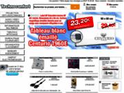 screenshot http://www.technoconfort.com equipements audiovisuels et bureautiques