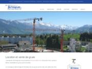Technogrues (Suisse) - Chantiers et grues