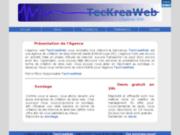 screenshot http://teckreaweb.chez.com teckreaweb: l'agence web