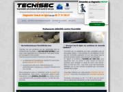 screenshot http://www.tecnisec.fr tecnisec, traitement contre l'humidité des murs