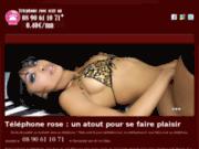 Goutez au plaisir du sexe au tél avec Telephonrose.com