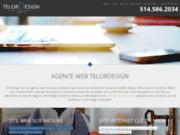 screenshot http://www.telordesign.com/ création de site web, promotion et design graphique, telordesign au québec