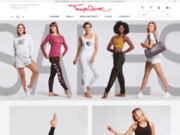 screenshot http://www.tempsdanse.com vêtements de danse et de fitness