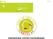 screenshot http://www.termites64.fr Termites 64 spécialiste du traitement anti-termites à Orthez