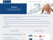screenshot http://www.terraconseil.com conseil auprès des acteurs du logement social, de la santé, des entreprises
