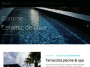 screenshot http://terracottapiscines.com construction, équipement et entretien des piscines