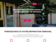 screenshot http://www.terrasse-bois-33.fr clotures en bois à bordeaux