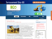 screenshot http://terrassement-oise60.com terrassement Oise