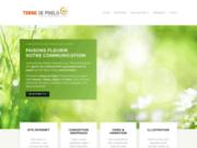 Terre de Pixels : agence communication création web et papier Maine et Loire