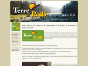 screenshot http://terreetpaille.fr/ vente directe à la ferme