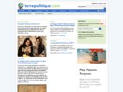 screenshot http://www.terrepolitique.com actualité politique