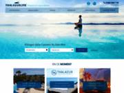 screenshot http://www.thalasso-line.com séjour thalasso spa ou balnéothérapie