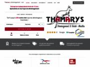 screenshot http://thamarys-demenagement.com entreprise de demenagement paris