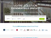 screenshot http://the-event-finder.com vente privée