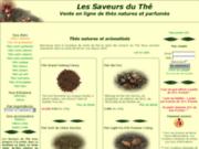 screenshot http://www.the-vente-en-ligne.fr les saveurs du thé