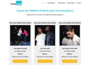 screenshot http://www.theatraction.fr cours de théâtre pour amateurs-theatraction